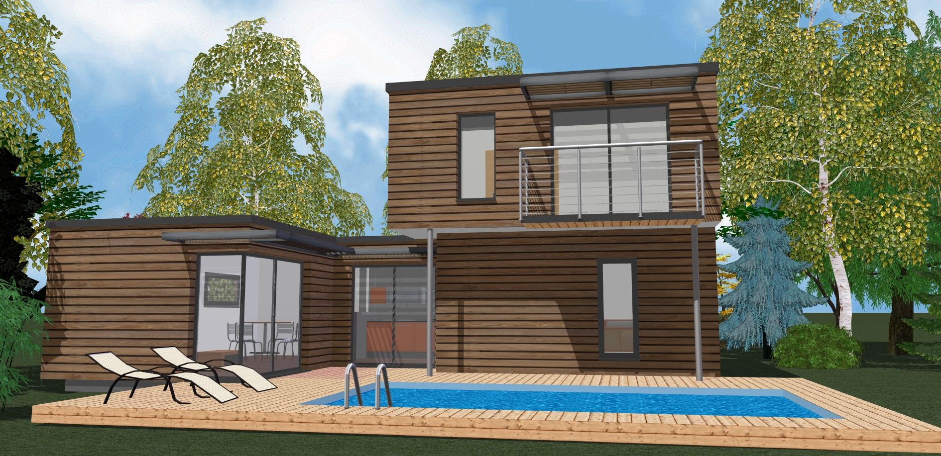 Ossature bois autoconstruction construire sa maison for Autoconstruction maison ossature bois