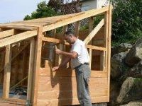 Mon abri de jardin tape par tape autoconstruction - Construire sa maison etape par etape ...