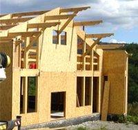 ossature bois autoconstruction construire sa maison soi m me. Black Bedroom Furniture Sets. Home Design Ideas